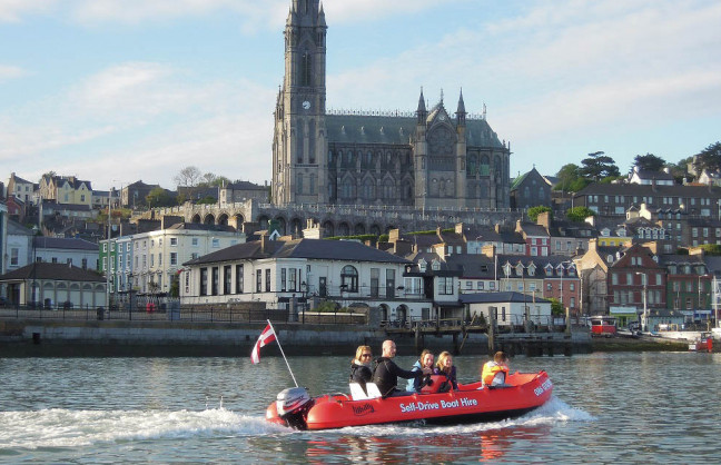 Things to do in County Cork, Ireland - Cork Harbour Boat Hire - YourDaysOut