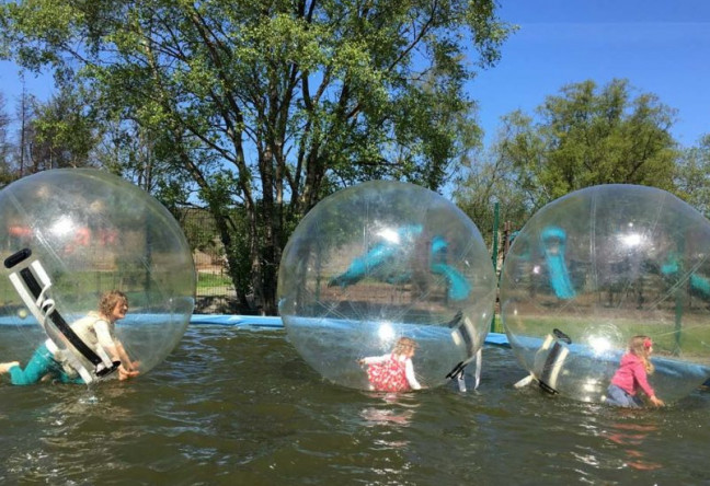 Things to do in County Wicklow, Ireland - Hidden Valley Holiday Park - Zorbing - YourDaysOut - Photo 3
