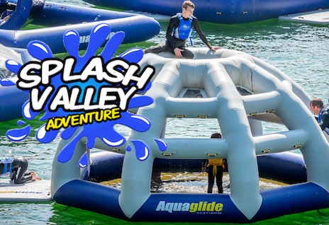 Things to do in County Wicklow, Ireland - Splash Valley Aqua Park @ Hidden Valley Holiday Park - YourDaysOut