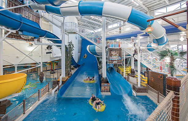 Things to do in County Louth, Ireland - Funtasia Waterpark - Boomerang Water Slide - YourDaysOut - Photo 2