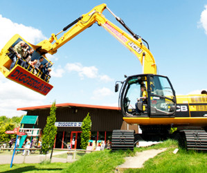 Things to do in England Castleford, United Kingdom - Diggerland, Yorkshire - YourDaysOut