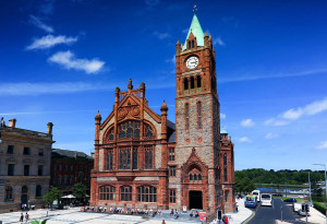 Things to do in Northern Ireland Londonderry, United Kingdom - Guildhall - YourDaysOut