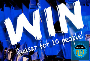 Competition: Win a game of Quasar for 10 people at Leisureplex - YourDaysOut