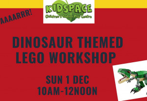 Things to do in County Dublin, Ireland - Dinosaur themed Lego workshop (5-10 years) - Kidspace Rathcoole - YourDaysOut