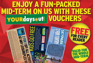 Get discounts to some of Ireland's best days out this mid-term break in this week's Sunday World. - YourDaysOut