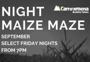 Things to do in Northern Ireland Limavady, United Kingdom - Carrowmena Night Maize Maze - YourDaysOut