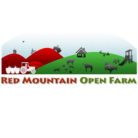 Red Mountain Open Farm logo